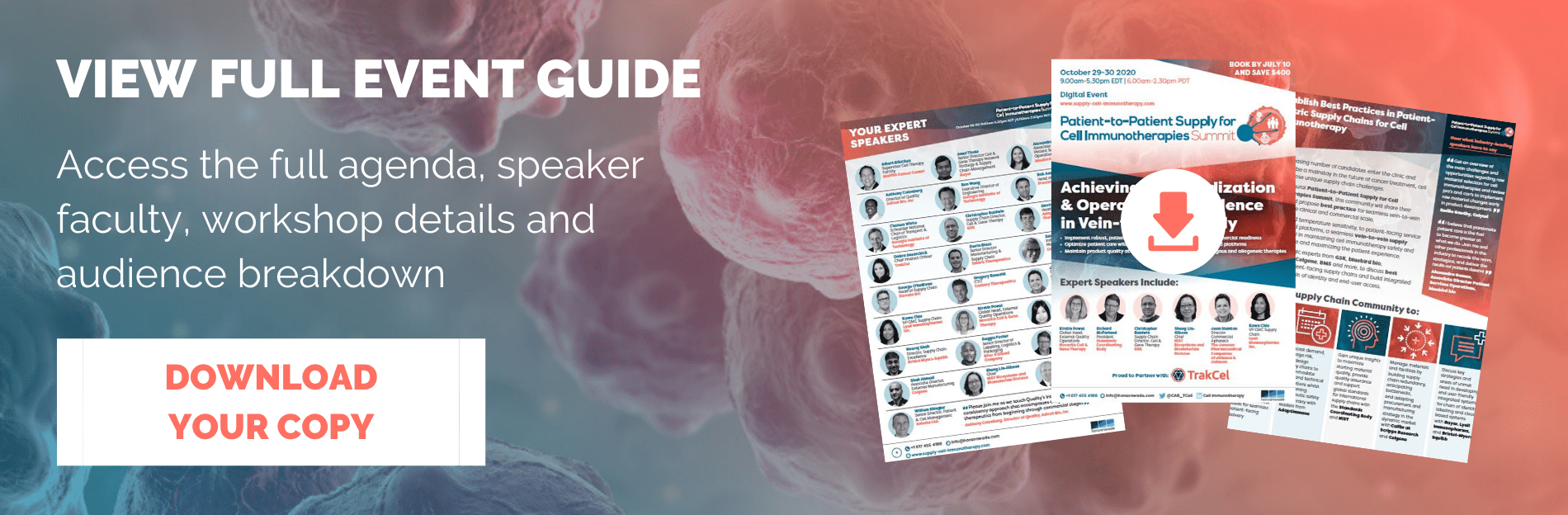 Patient-to-Patient Supply for Cell Immunotherapies Summit - Event Guide